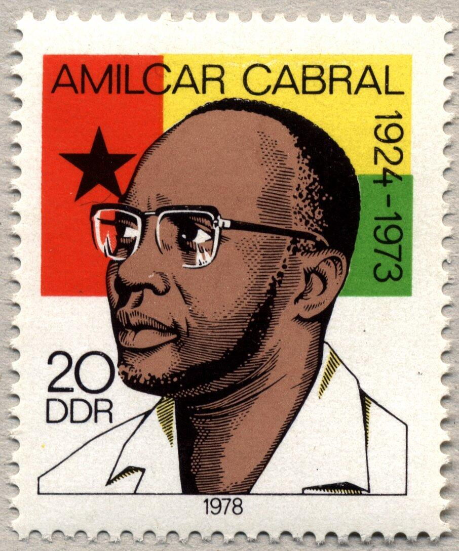 Timbre-portrait d'Amilcar Cabral