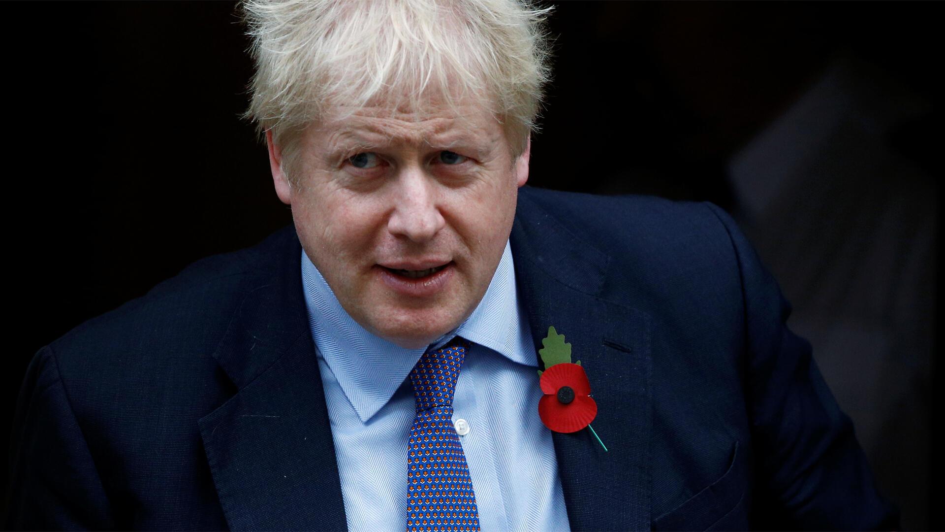 Boris Johnson à Londres, le 30 octobre 2019.