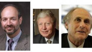 O americano Bruce Beutler, Jules Hoffmann, de Luxemburgo, e o canadense Ralph Steinman receberam o prêmio Nobel de medicina 2011.