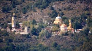 "The Aumist ""holy city"" of Mandarom, near Castellane"