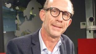 El editor francés David Ferré en RFI