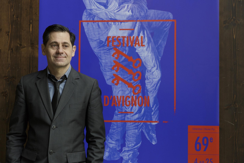 Portrait d'Olivier Py, directeur du 69ème Festival d'Avignon.