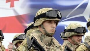 Depuis le début de la crise en Ukraine, la Géorgie a plusieurs fois demandé à intégrer l'Otan.