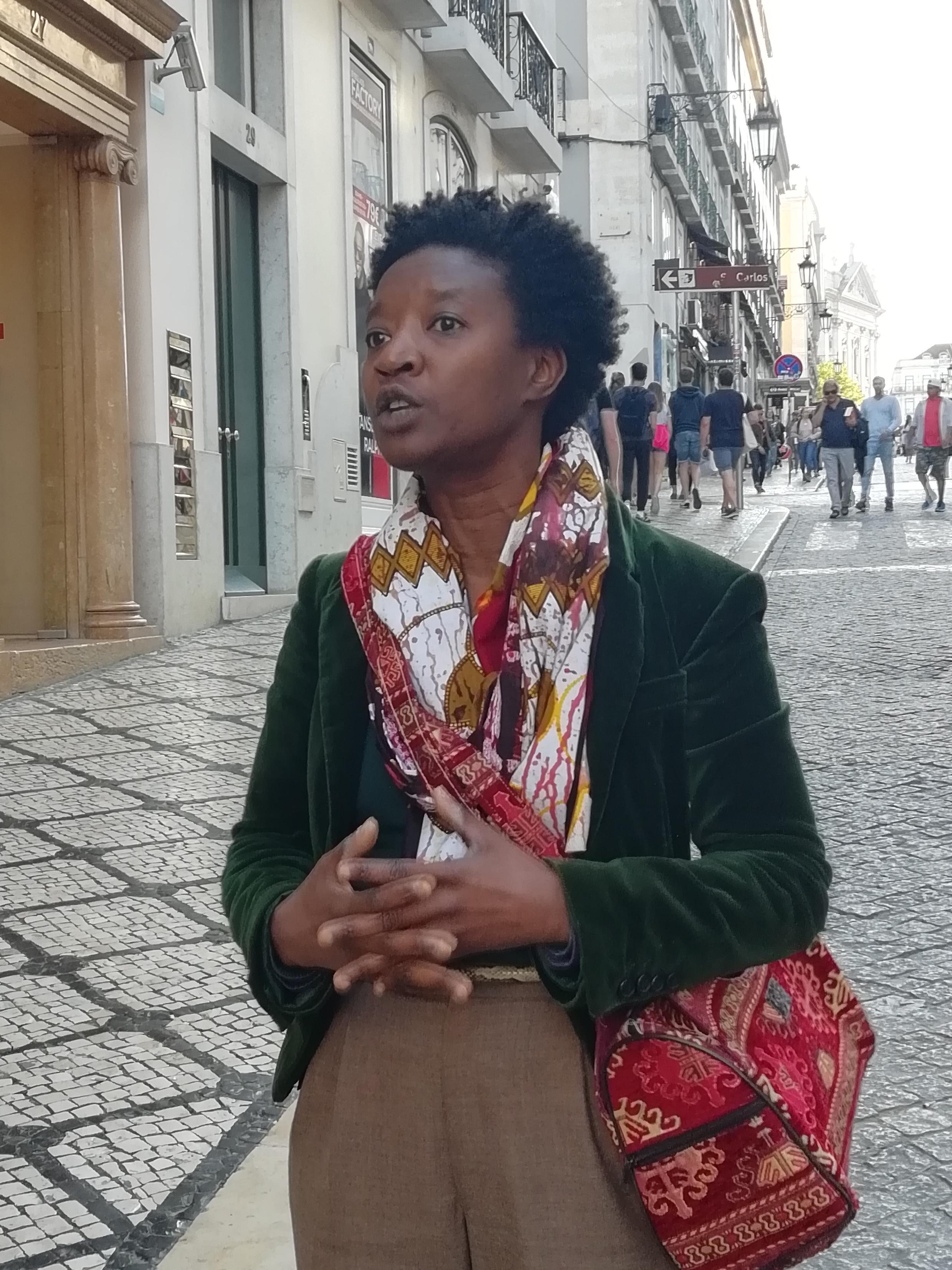 Beatriz Gomes Dias, Presidente da Associação Djass - Associação de Afrodescendentes