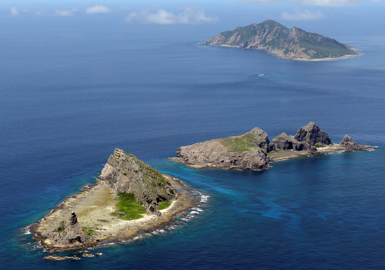 Quần đảo Senkaku-Điếu Ngư nơi tranh chấp chủ quyền giữa Nhật Bản và Trung Quốc. (Ảnh chụp 9/2012)