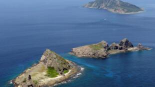 Quần đảo Senkaku-Điếu Ngư nơi tranh chấp chủ quyền giữa Nhật Bản và Trung Quốc. ( Ảnh chụp 9/2012).