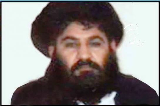 شماری از رسانه های افغان این تصویر را به ملا اختر منصور نسبت داده اند.