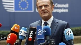 Постоянный председатель ЕС Дональд Туск