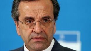 Antonis Samaras, líder do partido Nova Democracia, é o novo primeiro-ministro grego.