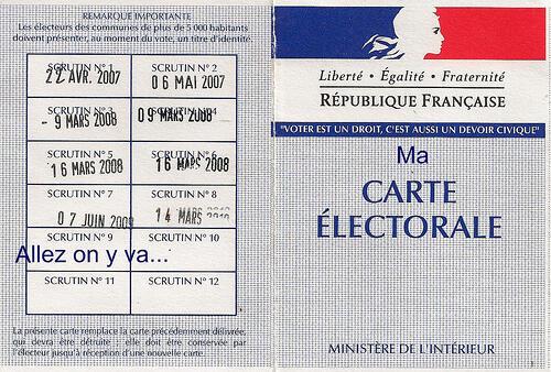 Trên mạng xã hội, rộ lên nhiều trang thông tin vận động cử tri đi bỏ phiếu (Joël Aubry / Flickr CC)