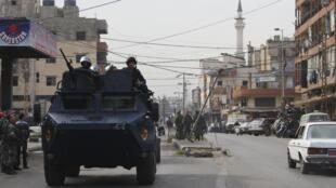 Dakarun Sojin Libya suna sintiri a Tripoli babban birnin kasar Libya