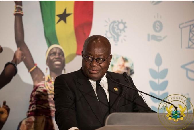 Shugaban kasar Ghana Nana Akufo Addo.