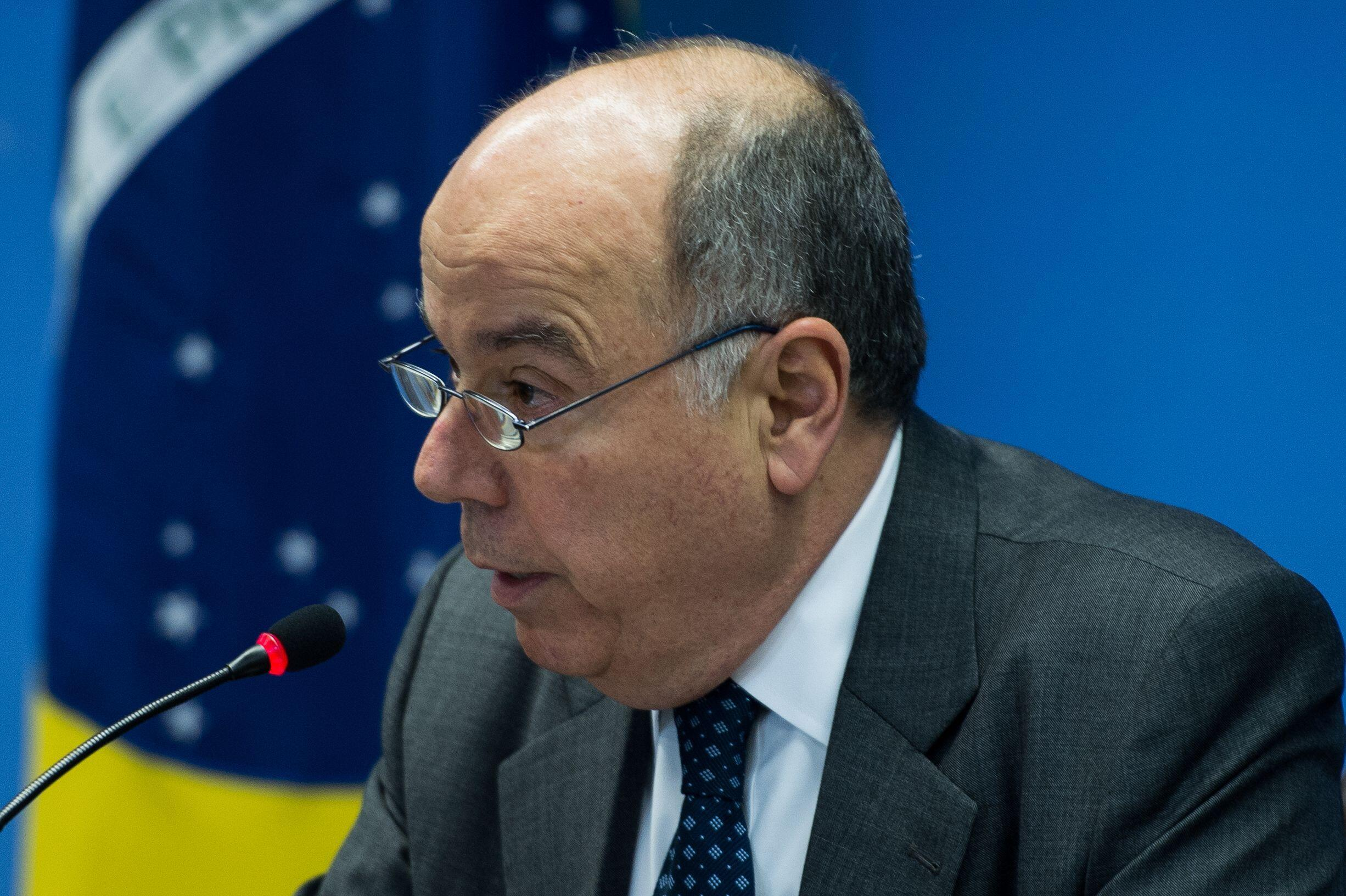 O ministro brasileiro das Relações Exteriores, Mauro Vieira