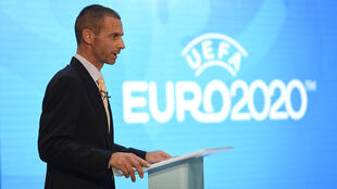 С сегодняшнего дня УЕФА придется менять цифру 2020 на логотипе Чемпионата Европы по футболу