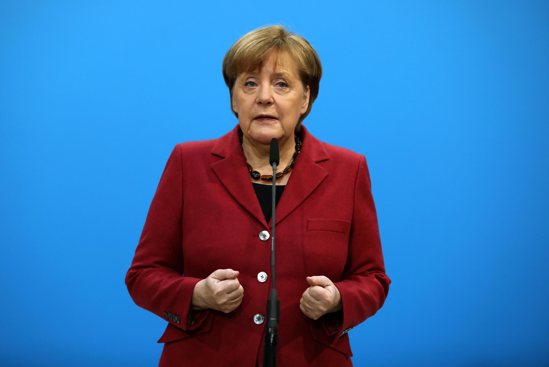 លោកស្រី Angela Merkel