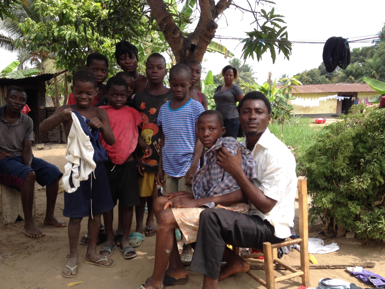 A Monrovia, la famille Garmanyou, voisine de Thomas Éric Duncan, mort d'Ebola aux Etats-Unis.