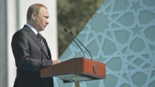 Shugaba Vladimir Putin na Rasha.