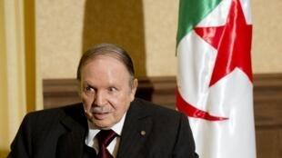 Shugaba Abdelaziz Bouteflika ya dade baya fitowa bainar jama'a.