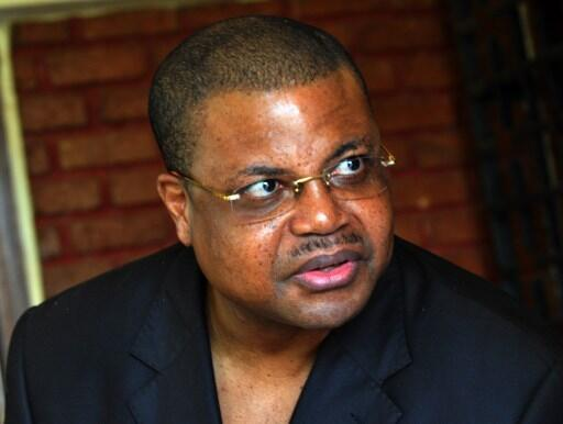 Nicolas Tiangaye, le 5 janvier 2013 à Bangui.