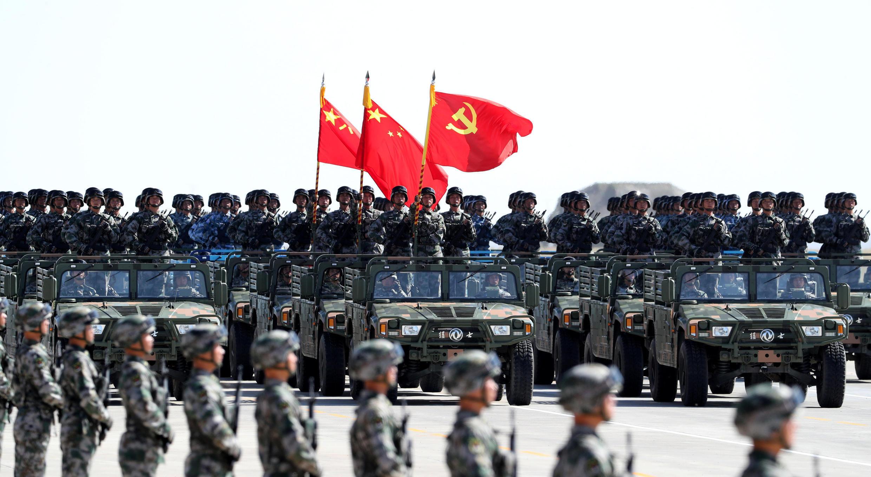 2017年7月30日中國建軍90周年典禮。