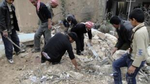 Athari ambazo zimetokana na mapigano yanayoendelea nchini Syria yakihusisha serikali na upinzani