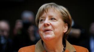 Shugaban Gwamnatin Jamus uwargida Angela Merkel