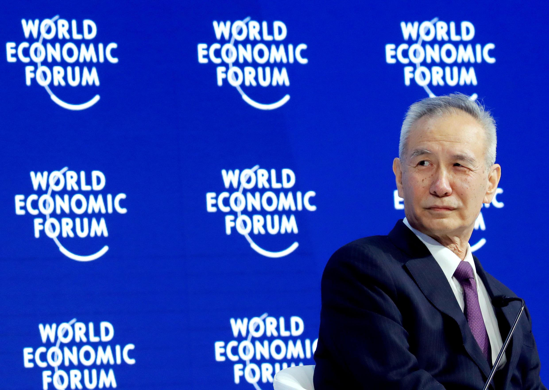 中国副总理刘鹤资料图片