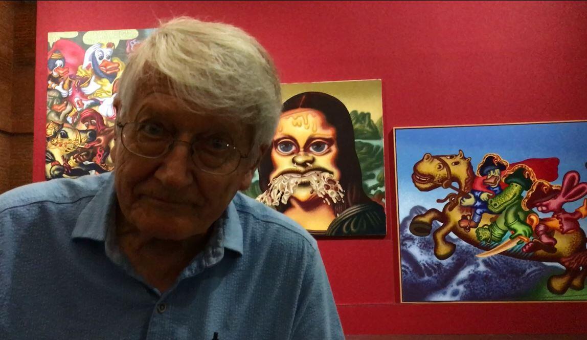 美国波普艺术教父彼得·索尔(Peter Saul)