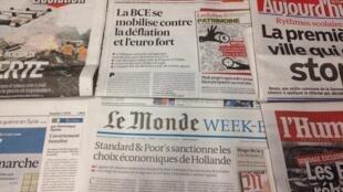 Imprensa francesa do dia 8/11/2013