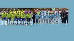 Seleção brasileira de futsal enfretará a Argentina.
