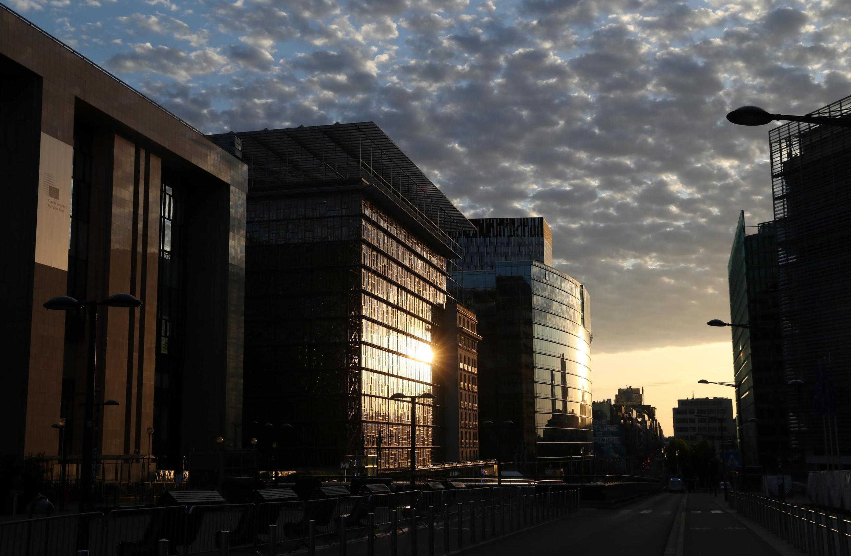 Trụ sở của Hội Đồng Châu Âu ở Bruxelles.