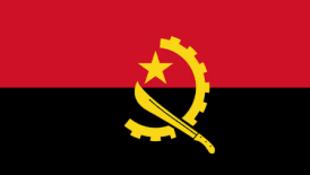 Bandeira de Angola e do MPLA