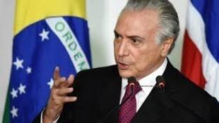 O Presidente brasileiro Michel Temer