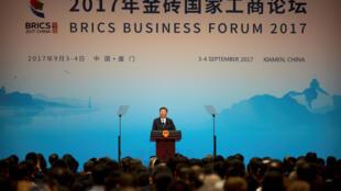 Chủ tịch Trung Quốc Tập Cận Bình khai mạc thượng đỉnh BRICS, Hạ Môn (Xiamen), ngày 03/09/2017