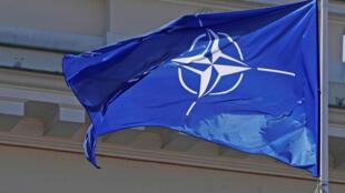 Le drapeau de l'Otan (image d'illustration).