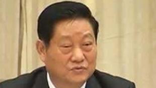 图为前陕西省委书记赵正永会议照