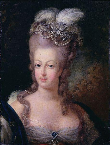Marie-Antoinette, 1775 - Musée Antoine Lécuyer.