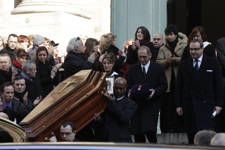 Annie Girardot's funeral