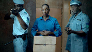 Maïmoussa Ndiaye, à l'affiche du film «L'Oeil du cyclone» de Sékou Traoré.