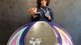 Rebeca Lima de apenas 17 anos fez história no boxe brasileiro ao conquistar 1ª medalha brasileira em mundiais juvenis, 30 de agosto de 2018