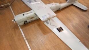 Пресс-центр штаба АТО украинской армии опубликовал фотографию беспилотника