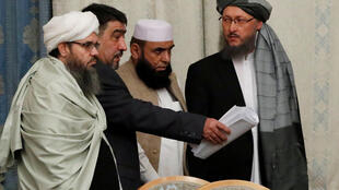 هیأتی از طالبان در مسکو، نهم نوامبر 2018