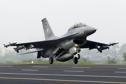 Phi cơ tiêm kích F-16 của, loại máy bay vừa được Mỹ quyết định bán cho Đài Loan.