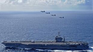 Hải quân Mỹ và Úc phối hợp tác chiến trong cuộc tập trận Talisman Saber 2013