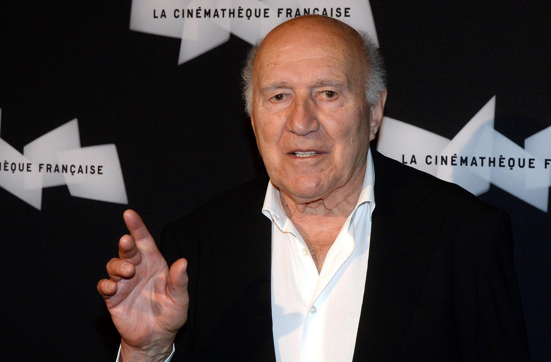 Michel Piccoli llega a la Filmoteca Francesa para una retrospectiva dedicada a su obra, el 4 de septiembre el año 2013 en París