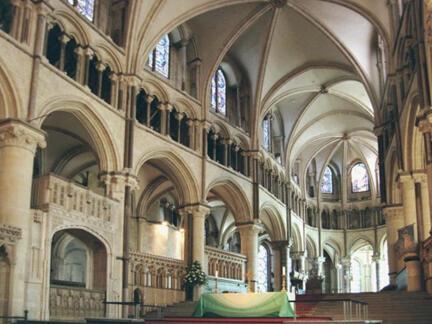La cathédrale de Cantorbéry, siège de l'Eglise d'Angleterre.