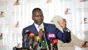 Rais mpya wa Kamati ya Olimpiki nchini Kenya Paul Tergat