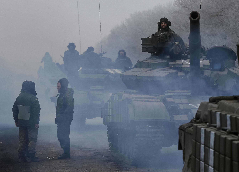 Mapigano nchini Ukraine
