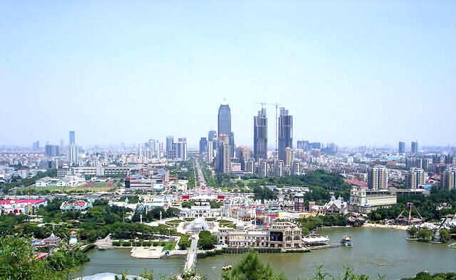 Vue de  Suzhou.