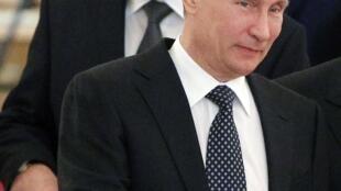 Владимир Путин и Александр Лукашенко в Москве 19/12/2012